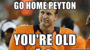 Memes De Los Broncos - los memes del retiro de peyton manning fotos