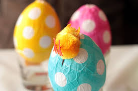 paper mache easter eggs not martha to make papier mache easter eggs