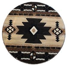 amazon com native american round area rug 5 ft x 5 ft berber