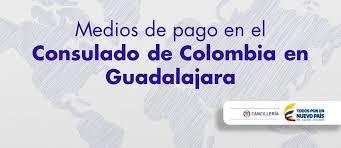 consolato colombiano consulado de colombia en guadalajara