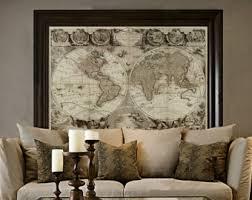 world map etsy