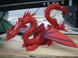 paper dragons second paper by rekalnus on deviantart