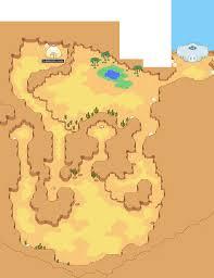 World Deserts Map by Starmen Net Mother 3 Maps