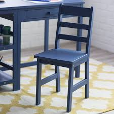 amazon com lipper writing workstation desk and chair navy