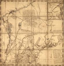 New England Colonies Map by Map Of New Hampshire Colony