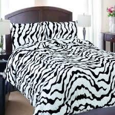 Zebra Bed Set Zebra Print Comforter Set