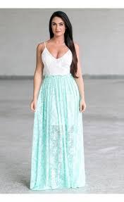 mint green and ivory open back maxi dress cute mint summer