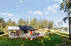 Swedish Farmhouse Plans by Off Grid Island Cottage In Sweden Small House Bliss This Summer