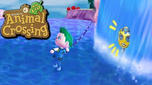 animal crossing new leaf water walking glitch nintendo 3ds