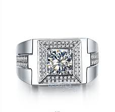 diamond king rings images Luxury quot the king of wind quot square man ring 1 carat synthetic jpg