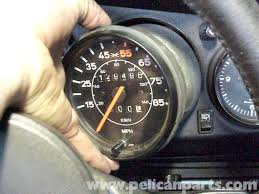 porsche 911 dashboard porsche 911 speedometer removal 911 1965 89 930 turbo 1975