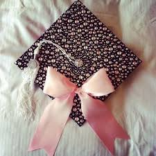 Bedazzled Graduation Cap with a Pink Bow 40 Awesome Graduation