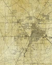 Vintage Map Vintage Map Portland Oregon 1879
