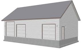 g458 30 u0027 x 50 u0027 x 12 u0027 workshop garage plans sds plans