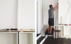 ikea shelf with lip sarah sherman samuel house update diy built in shelving sarah