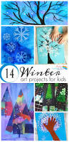 14 wonderful winter art projects for kids process art winter