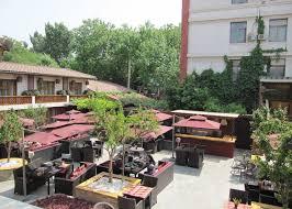 Urban Wall Garden - red wall garden hotel hotels in beijing audley travel