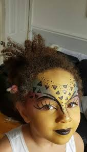 cheetah face makeup for halloween 21 best face painting by chantelle hallett images on pinterest
