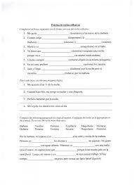 ejercicio con los verbos reflexivos eseñando español a niños de