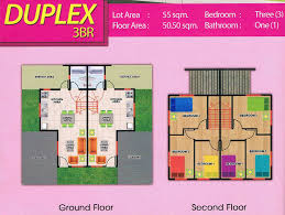 br duplex house for sale in angeles city brgy mining ref 3br floor