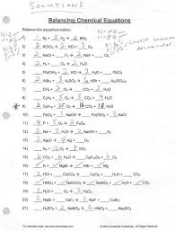 26 balancing chemical equations answers well balancing chemical equations answers worksheet 1 applicable solutions with um