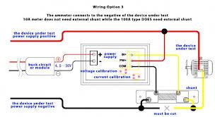 dual digital display dc voltmeter u0026 ammeter 0 100v 0 100a australia