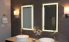 Best Bathroom Lighting For Makeup Mirror With Lights Around It Mirror With Bulbs Around It Designing