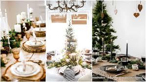 20 wonderful dinner table settings for merry holidays