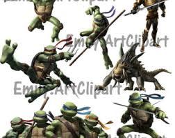 ninja turtle clipart etsy