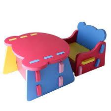 bureau et chaise pour bébé acheter meubles pour enfants bricolage réunissant table et chaises