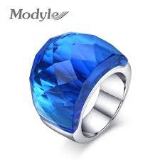 aliexpress buy modyle new fashion wedding rings for online shop modyle 2017 new fashion large rings for women wedding