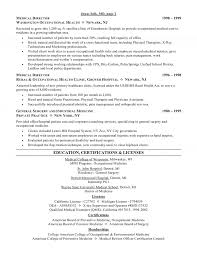 Knock Them Dead Resume Medical Doctor Resume Free Resume Example And Writing Download