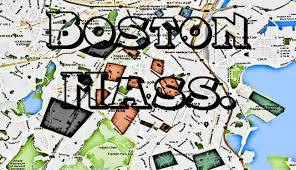 Map Of Boston by Boston Gangs And Boston Hoods Map Of The Bean City