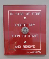 edwards est 1534 1 key operated fire alarm station