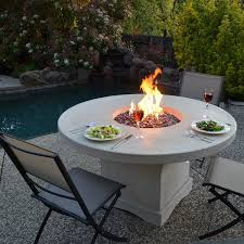 introducing firepit tables a fiery stunning garden table with pit best 25 pit table ideas