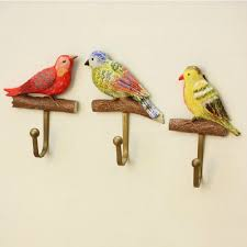 Decorative Wall Hooks For Hanging Aliexpress Com Buy High Load Bearing Creative Hook Bird Design