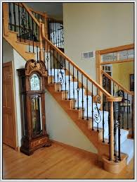 Iron Stair Banister Wrought Iron Stair Railings Home Design Ideas