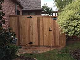 stockade fence gate home u0026 gardens geek