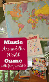 musical for songs from around the world edventures