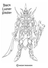 yu gi oh gaia the fierce knight coloring picture for kids yu gi