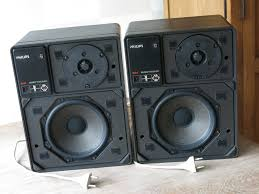 philips 7 1 home theater pair of philips motional feedback mfb loudspeakers model 22rh541
