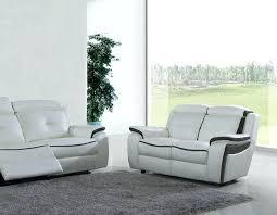 canap 2 places noir canape 2 places noir beautiful canap relax en cuir blanc et detroit
