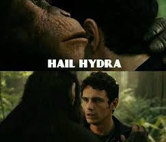 Hail Hydra Meme - caesar has some serious connections the best of the hail hydra