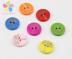 aliexpress com buy 12pcs 24pcs 20mm cute tree kids wood button