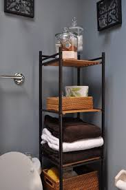 Over The Toilet Table Bathroom Towel Rack Ideas For Small Bathrooms Diy Over The