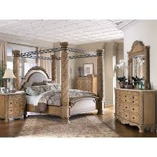 South Coast Poster Canopy Bedroom Set Millennium Furniture Cart - North shore poster bedroom set price