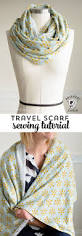 infinity travel scarf sewing tutorial on polka dot chair blog