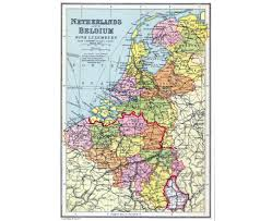 Map Netherlands Download Map Netherlands And Belgium Major Tourist Attractions Maps