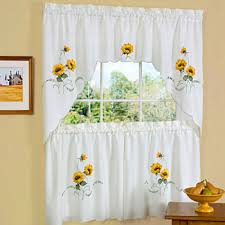 kitchen curtains yellow yellow kitchen curtains for window jcpenney