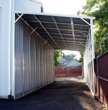 Attached Carports by Lean To Carports All Steel Northwest